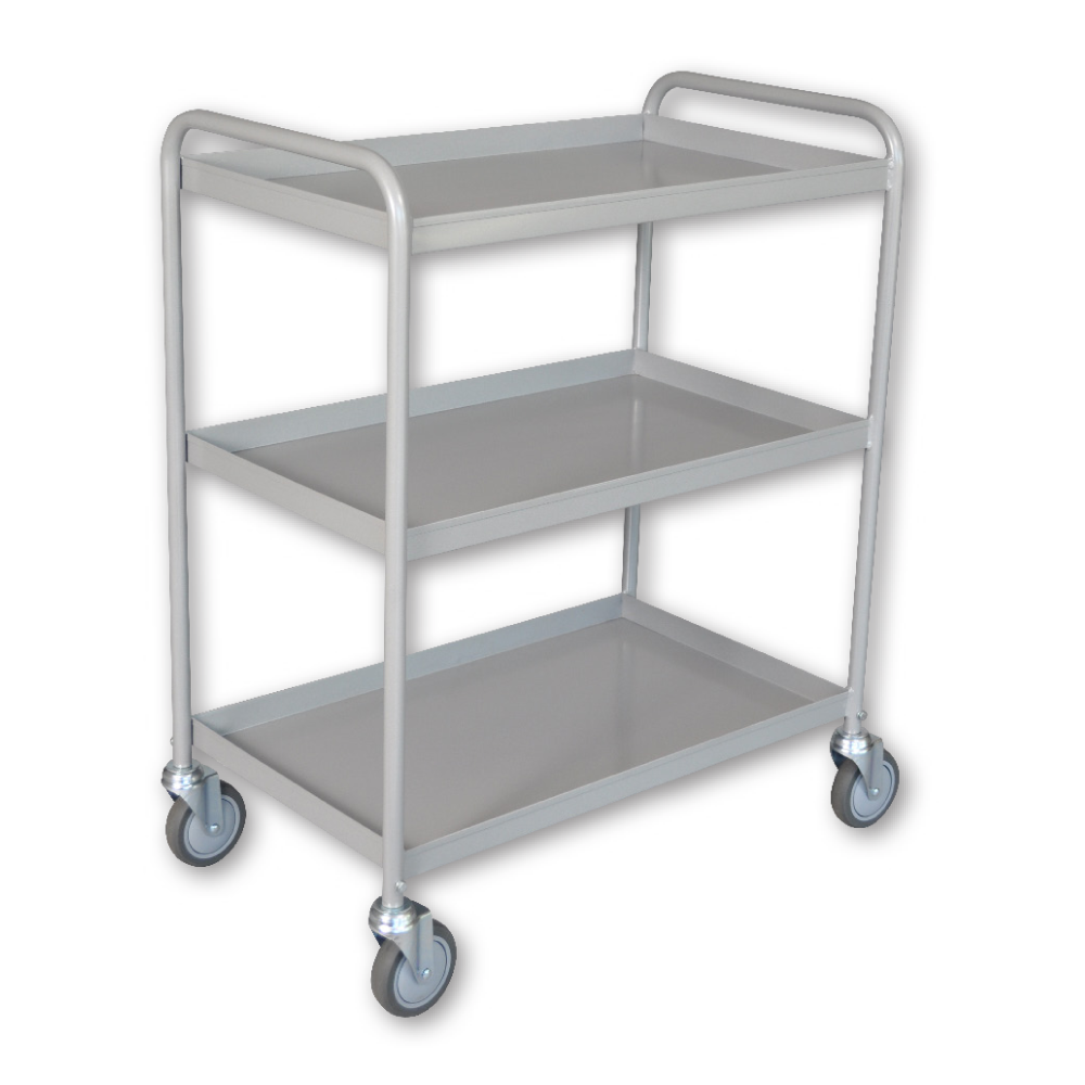 3 Shelf Tray Trolley