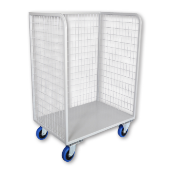 Open Front Mesh Bulk Delivery Trolley