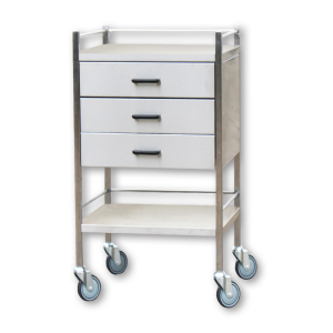 Instrument Trolley - Three Drawer