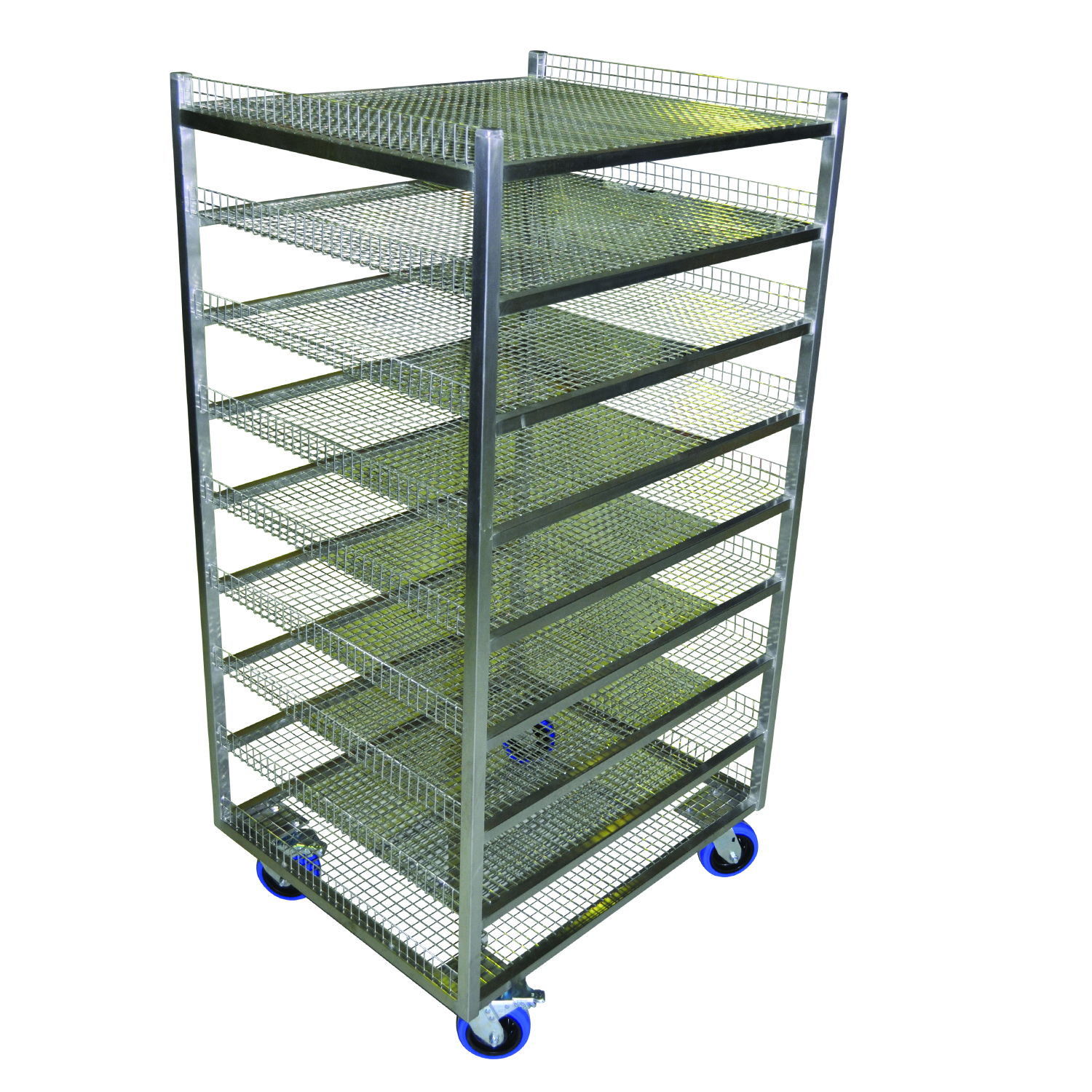 Custom Bread Cooling Rack Trolley