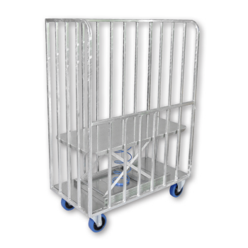 Front Panel Bulk Delivery Trolley