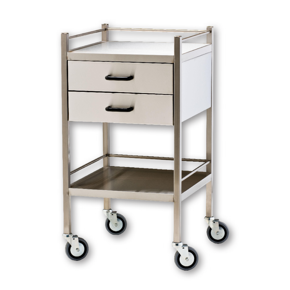 Instrument Trolley - Two Drawer