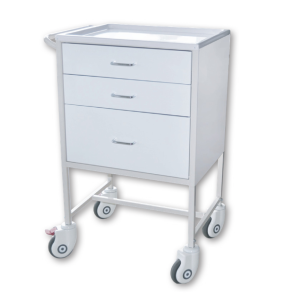 Medication Cart - 3 Drawer