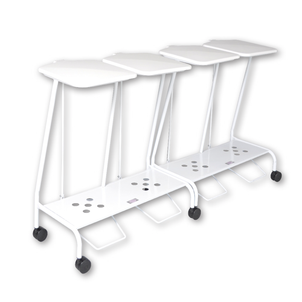 Quad Soiled Linen Trolley