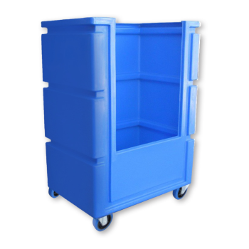 Small Open Top Tall Boy Trolley