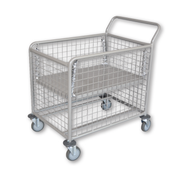 Small Wet & Dry Mesh Linen Trolley
